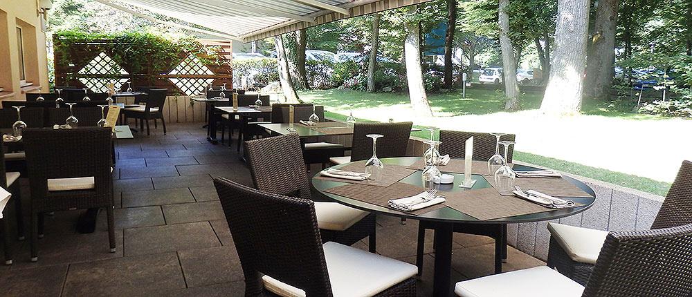 Terrasse restaurant la Forêt
